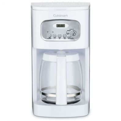 Cuisinart White Classic 12 Cup Programmable Coffeemaker