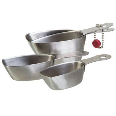 PL8 Stainless Steel Measuring Cups Set
