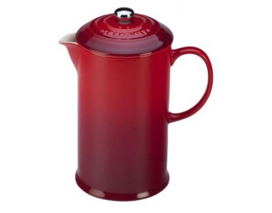 Le Creuset French Press, 27 oz., Cerise