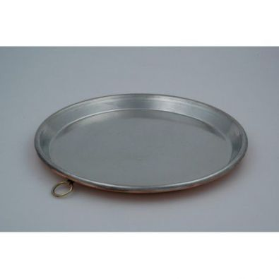 Italian Copper Baking Pan, 14.4 in