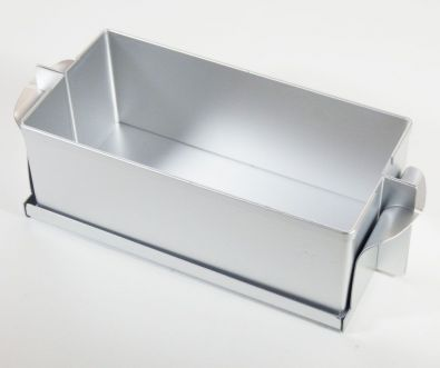 Silverwood 11x4 Rectangular Sliced Game Pie Mold