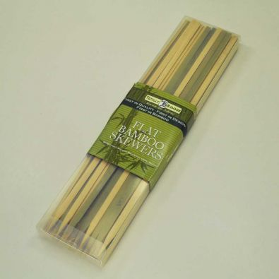 Totally Bamboo Skewers 12 Inch Flat