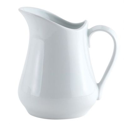 HIC White Porcelain Cream Pitcher 4-Oz