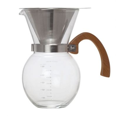 HIC Pour-Over Coffee Maker 4-Cup