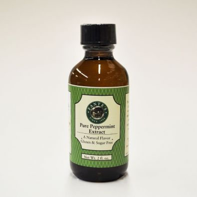 Fante's Pure Peppermint Extract 2 Oz
