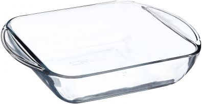 Anchor Oven Basics Square Glass Cake Dish 8-Inch