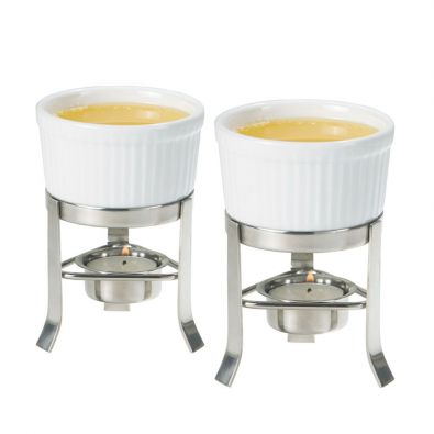 Oggi Deli Butter Warmer Set of 2 with Stands