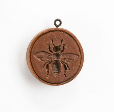 House on the Hill Bee Happy Springerle Mold