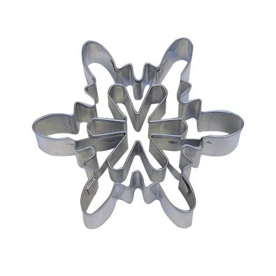 Snowflake A 3-Inch Cookie Cutter With Cutouts 5855