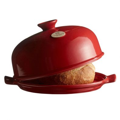 Emile Henry Bread Cloche Burgundy