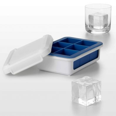 Oxo Good Grips Covered Silicone Ice Cube Tray Large Cubes