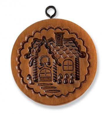House On The Hill Gingerbread Cottage Springerle Mold