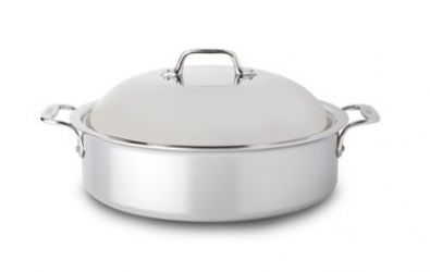 All-Clad Stainless Steel French Braiser 6-Quart