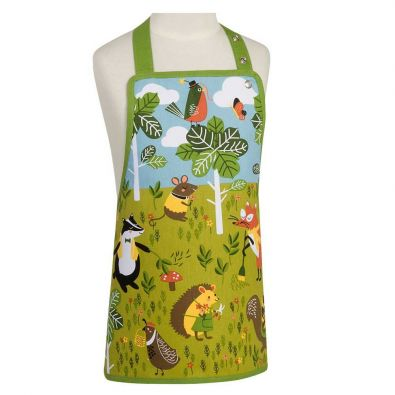 Now Designs Kids Apron Critter Capers