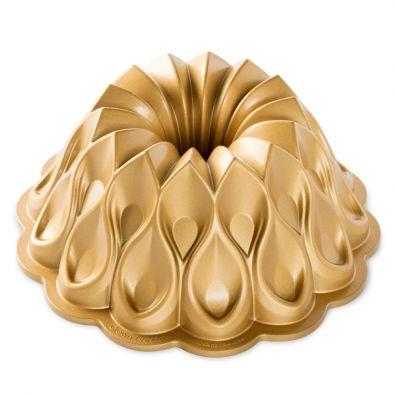 Nordic Ware 70th Anniversary Gold Crown Bundt Pan 10-Cup