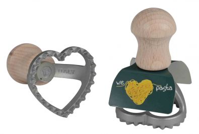 Heart Ravioli Stamp, 1.6 in.
