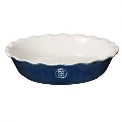 Emile Henry Modern Classic Pie Dish 9-In Twilight Blue