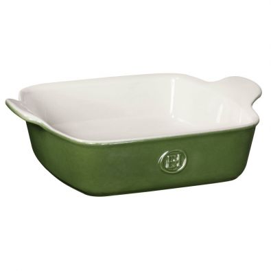 Emile Henry Modern Classic Square Baking Dish 8x8-In Spring Green