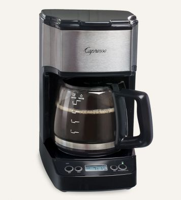 Capresso Mini Drip Programmable Coffee Maker 5-Cup