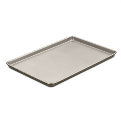 Cuisinart Chefs Classic Champagne Nonstick Cookie Sheet 17x12x1-Inch