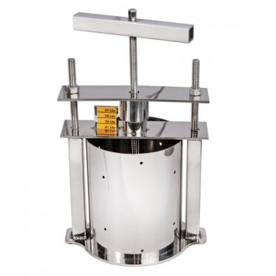 Stainless Steel Deluxe Cheese Press