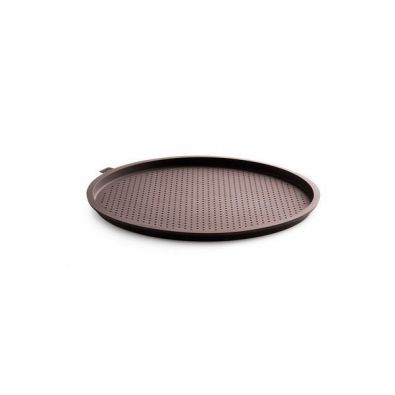 Lekue Perforated Pizza Pan 14 in Brown