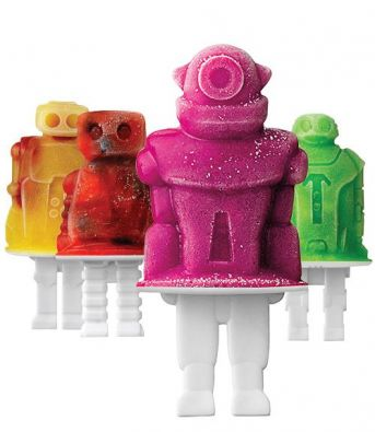 Tovolo Robot Pop Molds, Set of 4