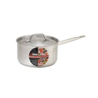 Winco NSF Sauce Pan with Lid, 3.5 Qt