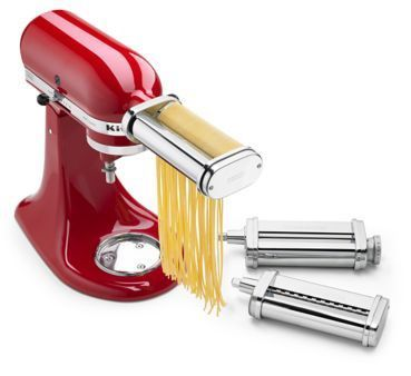 KitchenAid Pasta 3-Piece Roller and Cutter Set Attachment KSMPRA