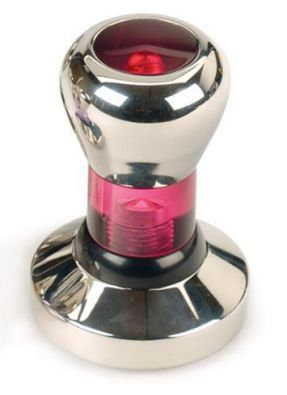Endurance Espresso Tamper, 58 mm, Red