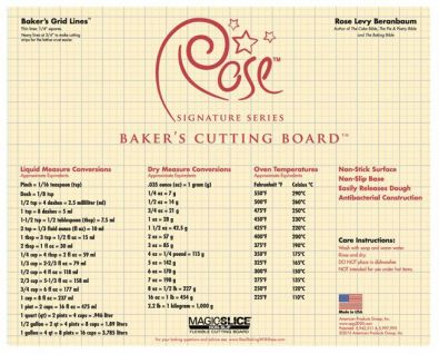 Rose's Baker's Cutting Board