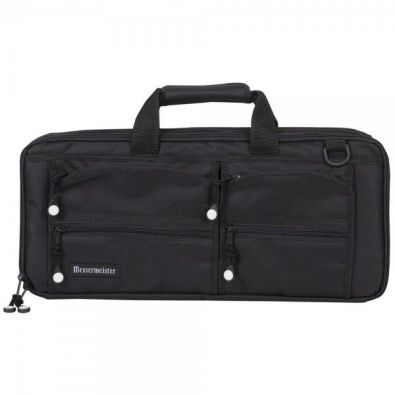 Messermeister Master Chef's Bag 18-Pocket Black