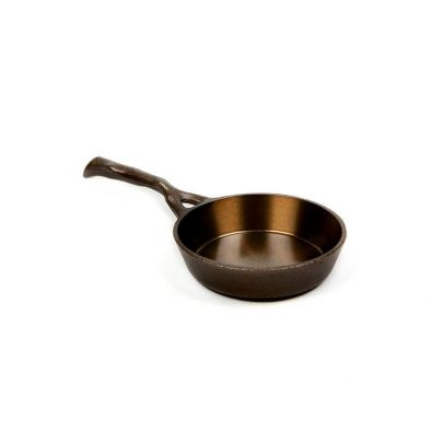 Nest Homeware Cast Iron Egg Pan, 4.5 in.