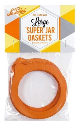 Rubber Gaskets for Le Parfait, 100 mm