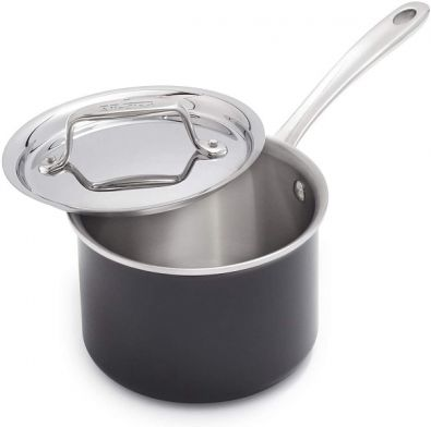 All-Clad LTD Sauce Pan with Lid, 2-Quart