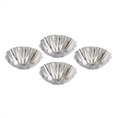 Mrs. Anderson's 3 inch Domed Tarlet Molds, Set of 4
