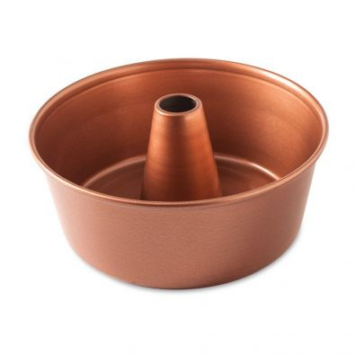 Nordic Ware Freshly Baked Copper Angel Food and Pound Cake Pan