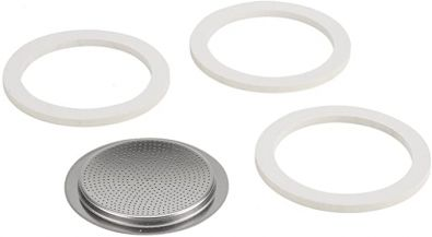 Venus Kitty and Musa 6 Cup Gaskets and Filter Set