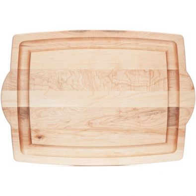 JK Adams Maple Carving Board with Handles