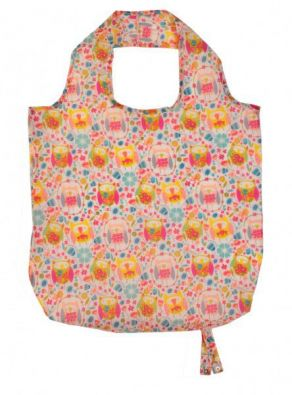 Twit Twoo Reusable Folding Tote Bag