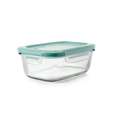 OXO Good Grips Smart Seal Glass Storage, 3.5 Cup