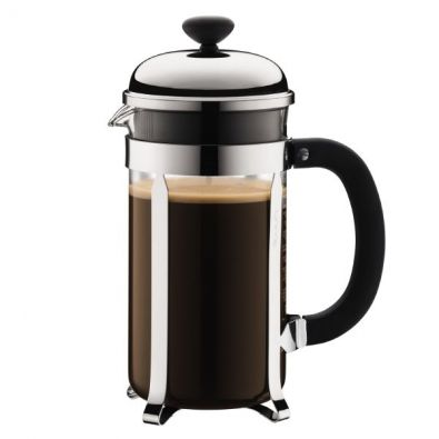 Bodum Shiny Chambord French Press, 8 Cup