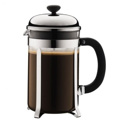 Bodum Shiny Chambord French Press, 12 Cup