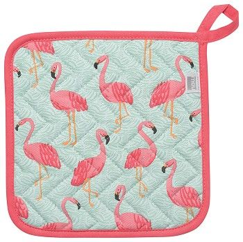 Flamingos Pot Holder, Now Designs Chef Collection