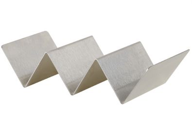 Taco Holder for 2-3 Tacos, Stainless Steel