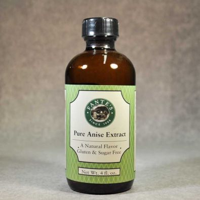 Fante's Pure Anise Extract, 4 oz.