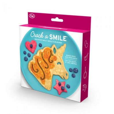 Fred Crack A Smile Unicorn Breakfast Mold