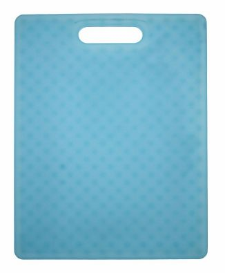 "Architec Gripper Cutting Board 11x14"" Translucent Turquoise"