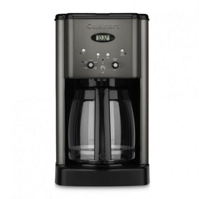Cuisinart Brew Central 12-Cup Programmable Coffeemaker, Black Stainless