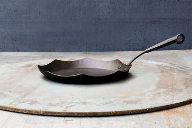 M2B Art Metals Steel Skillet 12""